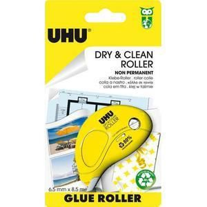 UHU Dry & Clean Glue Roller Non Permanent 8,5m x 6,5mm