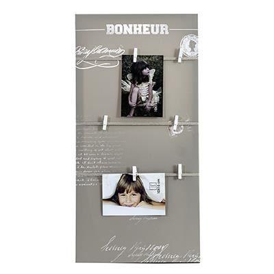 toile p le m le photo corde bonheur achat vente p le m le photo toile tissu verre. Black Bedroom Furniture Sets. Home Design Ideas