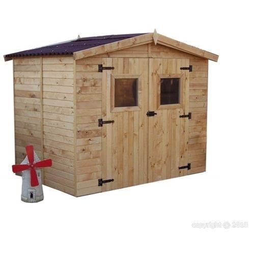 Abri de jardin avec plancher eden 5m2 achat for Cabane de jardin 5m2