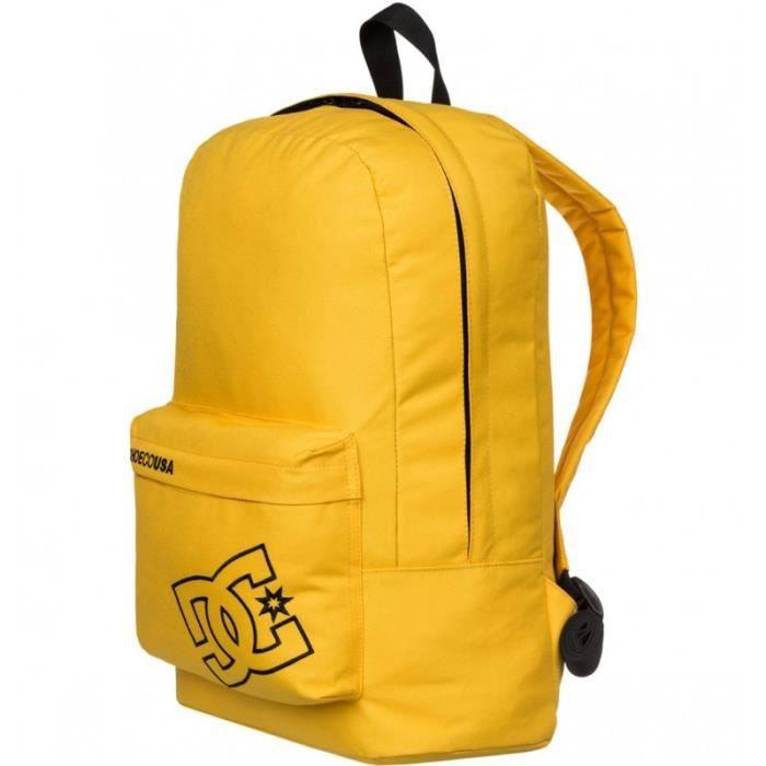 bc0933a3d1 Sac à Dos BUNKER SOLID jaune Homme/Femme Dc Shoes U Jaune Jaune ...