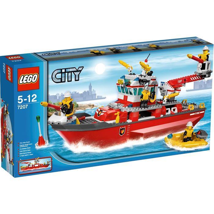 Lego city le bateau des pompiers achat vente assemblage construction cdiscount - Jeux lego dino ...