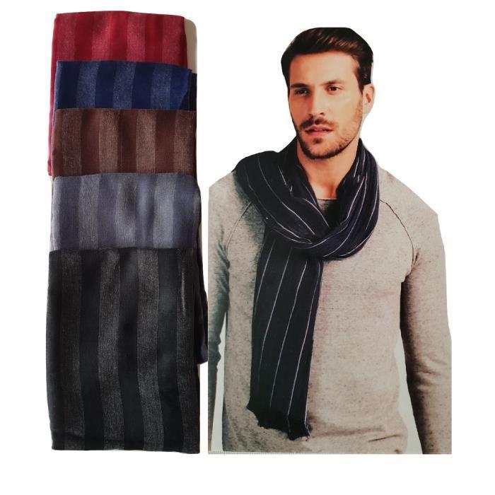 495c6393565e Manoukian écharpe Coton 90 cm x 180 cm - Achat   Vente echarpe ...