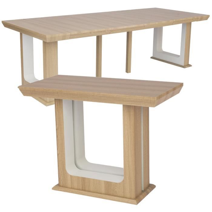 Table Clair Console Extensible Houston 250cm Chêne xdBeWrCo