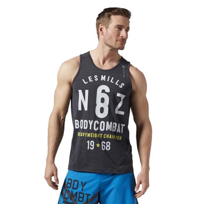 Reebok Bodypump Homme Activchill Mills Débardeurs Tank Vêtements Les dsthQr