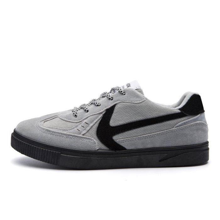 42 Qualité Mode Meilleure Homme R61331774 gris De Slip Chaussures Casual 5530 Caoutchouc Amortisseur Tennis Compensé On fOEcqv