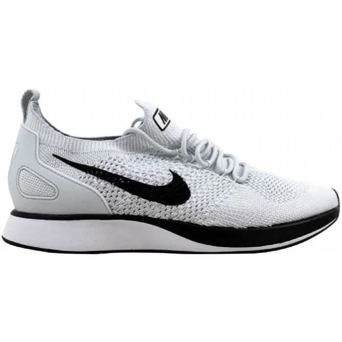 huge discount 0e183 64e95 NIKE Air Men Zoom Mariah Flyknit Racer Pure Platinum - White918264-002  1Z0QWE Taille-M