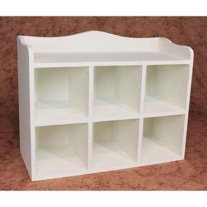 etagere murale casier achat vente etagere murale casier pas cher soldes d s le 10 janvier. Black Bedroom Furniture Sets. Home Design Ideas