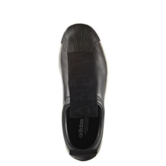 Basket adidas Originals Superstar BW Slip-On - BY9140 Noir Noir - Achat /  Vente basket - Cdiscount