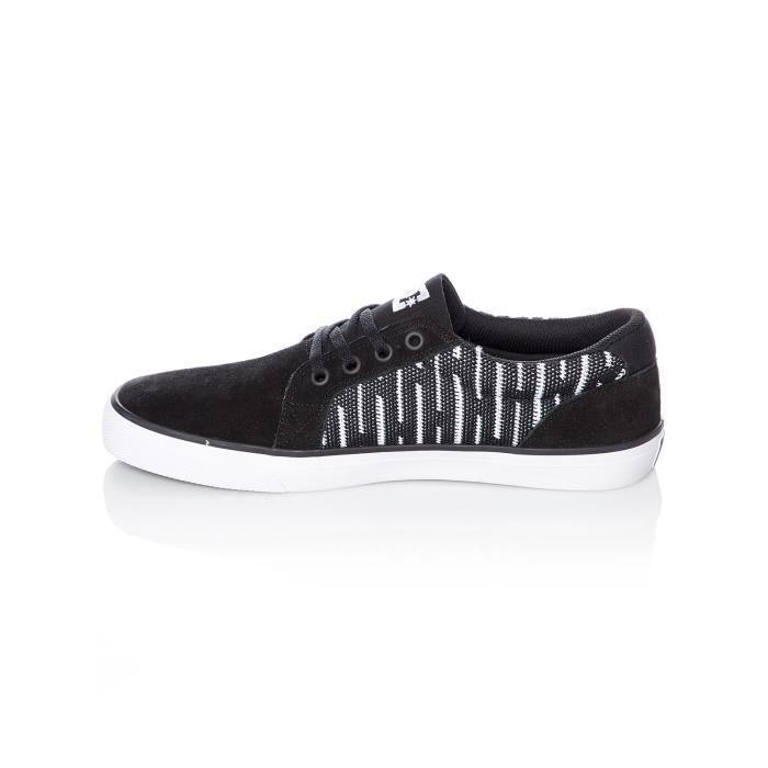 Chaussure DC Council SE Noir-Blanc-Noir oQc55ZOC7