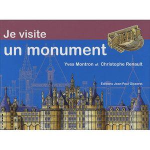 Livre 6-9 ANS Je visite un monument