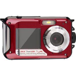 APPAREIL PHOTO COMPACT Appareil photo numérique étanche 24MP MAX 1080P Do