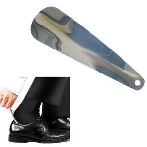 CHAUSSE-PIED Corne chaussure chausse-pied en acier inoxydable a