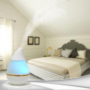 HUMIDIFICATEUR ÉLECT. Humidificateur Ultrasonique LED /Diffuseur Aroma/