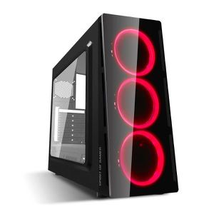 UNITÉ CENTRALE  Pc Gamer Deathmatch 5 Red AMD Ryzen 7 3700X - Vidé