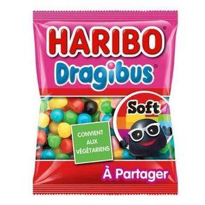 CONFISERIE DE SUCRE HARIBO Bonbons acidulés Dragibus Soft - 300 g