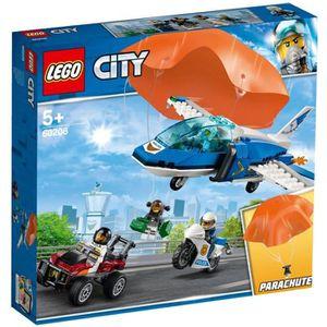 ASSEMBLAGE CONSTRUCTION LEGO® 60208 L'arrestation en parachute