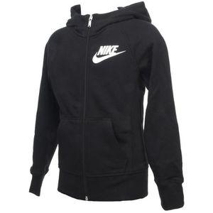 VESTE DE SPORT Vestes sweats zippés capuche Ya 76 noir kid - Nike