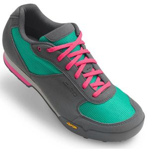 CHAUSSURES DE VÉLO Giro Chaussures Petra VR Femme turquoise/bright pi
