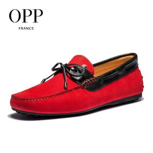 OPP Homme Casual Mocassins cuir Chaussure Driving Chaussure OD5201rouge vin42 1Nf8noVdD
