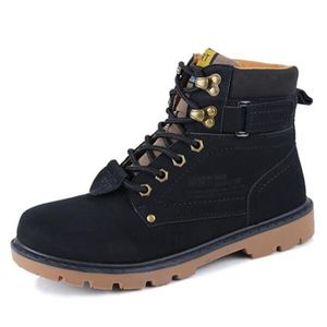 Hommes Tommy lacées en cuir neige Boot N9102 Taille-46 pa27X31
