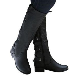BOTTE Femmes Chaussures pour femmes Boucle d'équitation