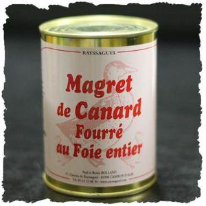 FOIE GRAS Magret farci au foie gras entier