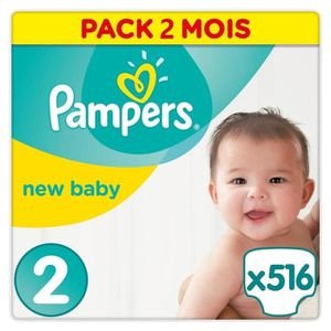 Couches achat vente couches pas cher cdiscount - Couches pampers new baby taille 2 pas cher ...
