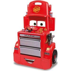 BRICOLAGE - ÉTABLI CARS 3 Smoby Servante Mack Truck + Voiture et Acs
