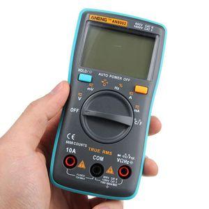 MULTIMÈTRE Multimètre AN8002 Digital RMS AC DC Courant de Ten