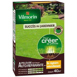 GAZON NATUREL VILMORIN Graines Gazon auto-réparant PELOUSE SELF'