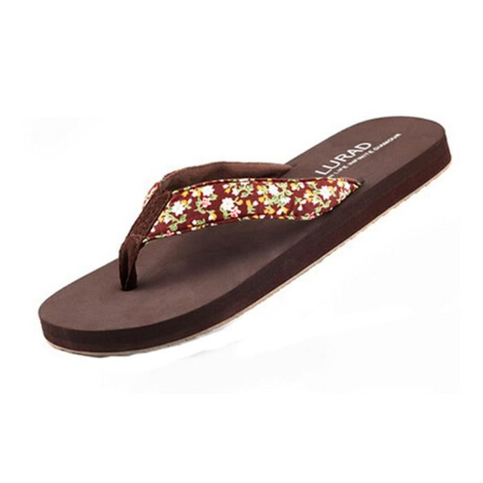 Plate-forme Chaussures pour filles Beach Pool Tongs