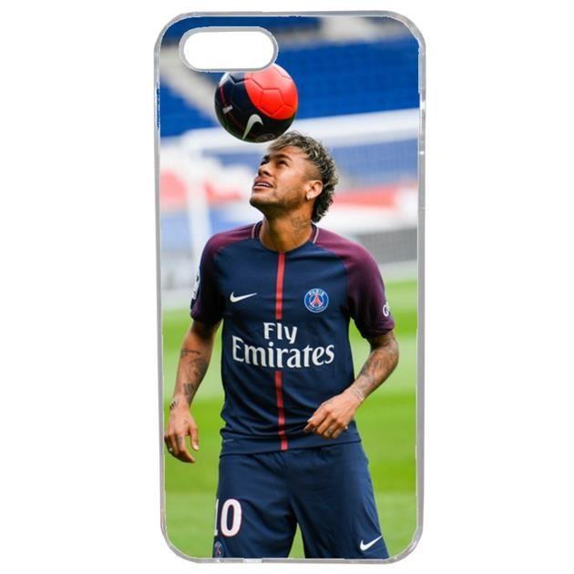 Coque Iphone 5 5s Foot Neymar Psg Numero 10 Joueur