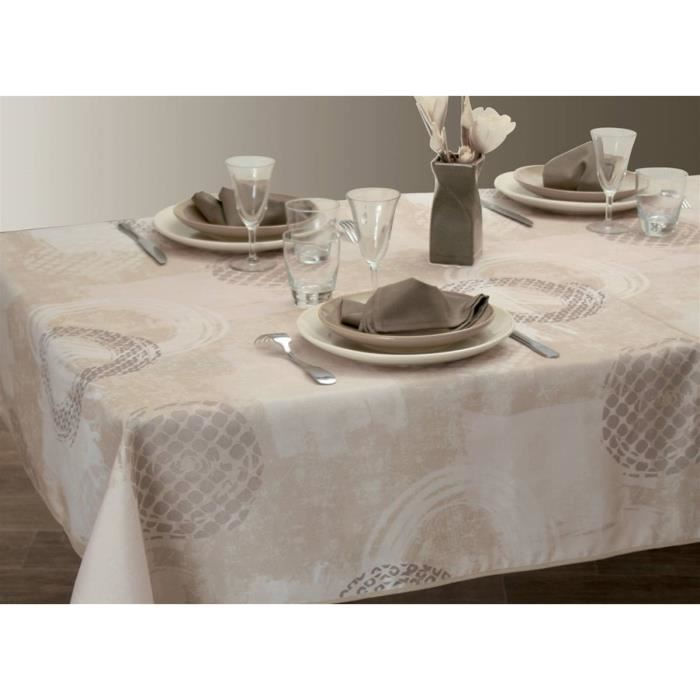 Nappe anti-taches Brush - taille : Ovale 150x250 cm - Achat ...