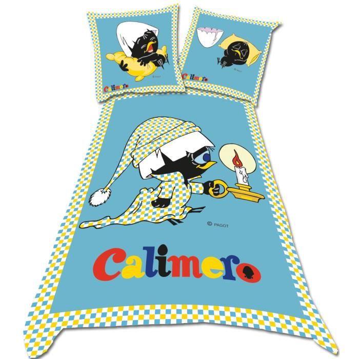 linge de lit sleepy LINGE DE LIT PARURE DE DRAP Calimero Sleepy DBO Pa   Achat / Vente  linge de lit sleepy