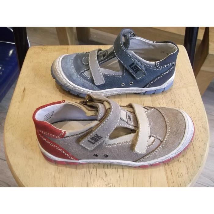 Chaussures garçons Mi-saisons Little Mary P32