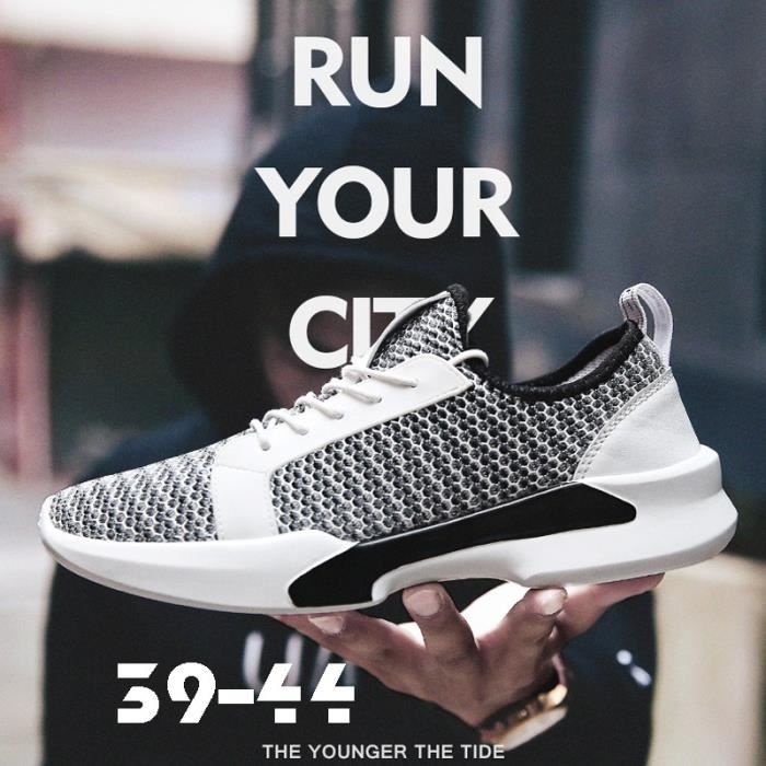chaussure multisport pour Mixtekaki 7 Summer New Tide Chaussures PU Soles Hipster Skateboard Chaussures Chaussures Mes_5173