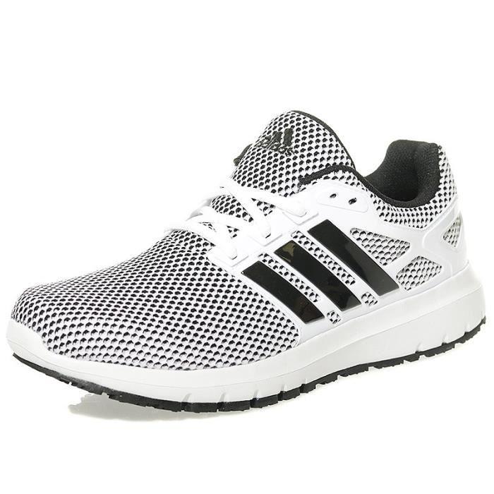 super popular 9ebb3 9a692 Chaussures Energy Cloudfoam Blanc Running Homme Adidas