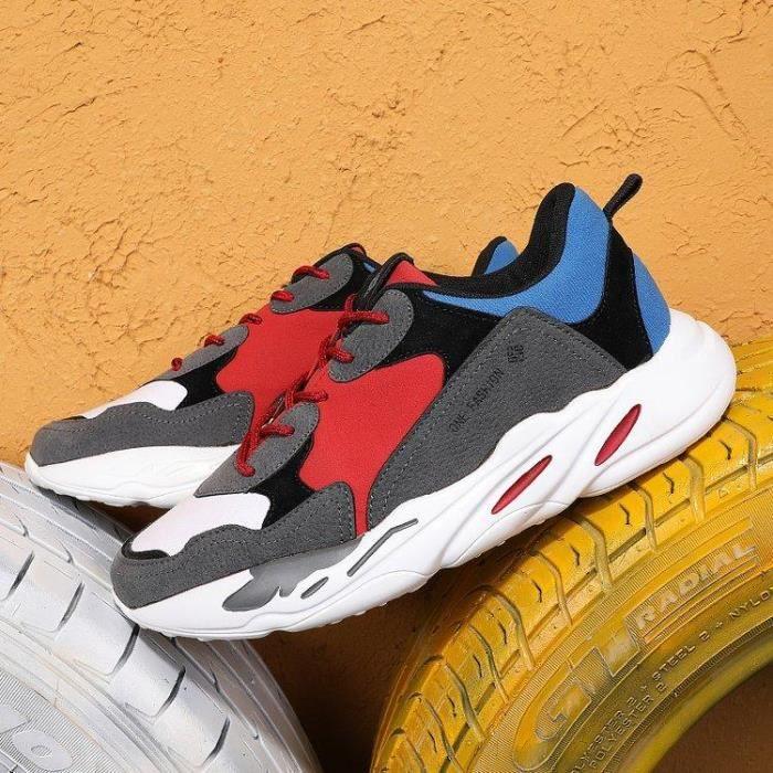 Slip Mode Running A Gym Basket Casual Noir Pied Course Antichoc gris on  Gris Compensé Chaussure Homme 43 Lacets Respirante 8v8qB b9705e2dad8