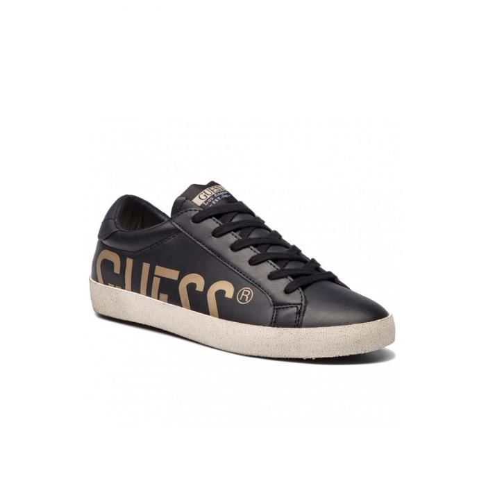 4ef72dad1f4 Sneakers Logotées Fmryn4 - Guess Jeans Black black - Achat   Vente ...