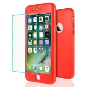 coque integrale iphone 7 rouge