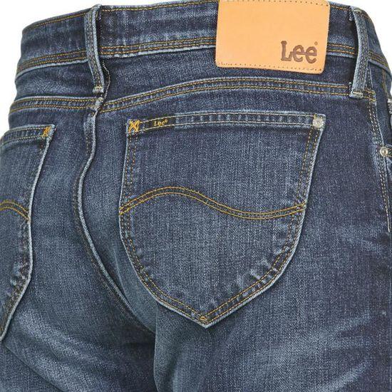 c664587a Jean femme Sallie skinny boyfriend LEE Bleu jean - Achat / Vente jeans -  Soldes d'été dès le 26 juin Cdiscount
