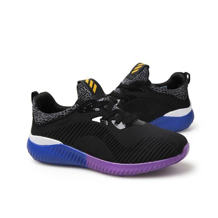Basket Homme Chaussures De Course Run Masculines Respirante Sport Chaussures 2017 Nouveau-Noir