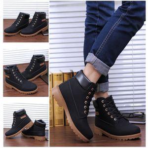 YJP Mode Homme Martin Chaussures Casual Camo Lacet Cuir NOIR 39 - Achat / Vente YJP Mode Homme Chaussures  pas cher - Soldes* dès le 27 juin ! Cdiscount