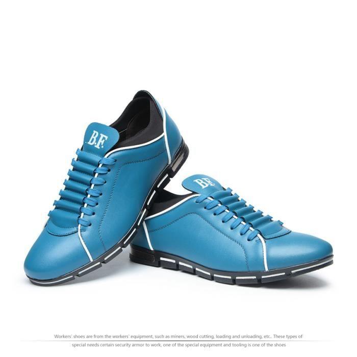 hommes chaussures occasionnels chaussures en cuir de mode pour hommes chaussures plates d'été hommes Dropshipping Grande taille