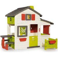 MAISONNETTE EXTÉRIEURE SMOBY Maison Friends House avec Sonnette Incluse