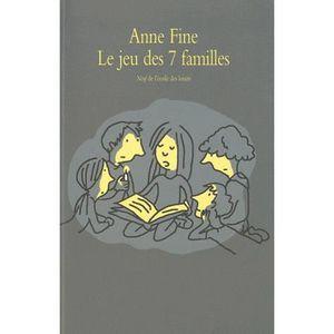 Livre 9 -12 ANS Le jeu des sept familles
