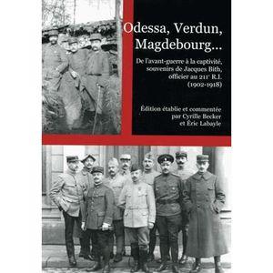LIVRE HISTOIRE FRANCE Odessa, Verdun, Magdebourg...