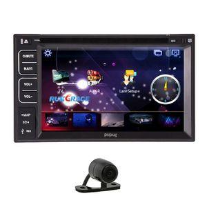 AUTORADIO Autoradio lecteur DVD de voiture GPS 3D Carte Univ