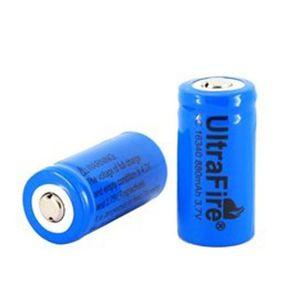 CHARGEUR DE PILES Zareste®2 x 3.7V 16340 batterie rechargeable de Li