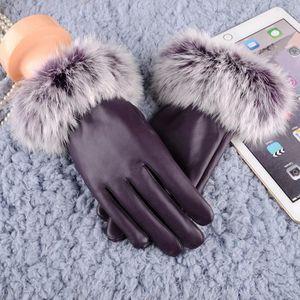 d50b353f623e GANT - MITAINE Femmes gants en cuir automne hiver chaud lapin mit